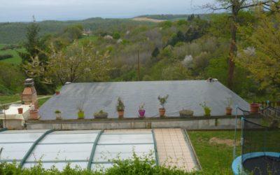 Construction de la terrasse pour le restaurant